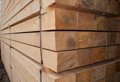 Брус обрезной 150х150х6000 из лиственницы