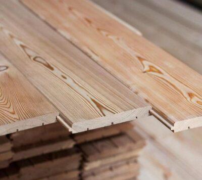Имитация бруса из лиственницы 20х140