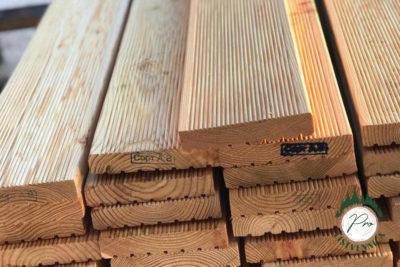 Террасная доска 35х140 из лиственницы